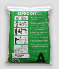 IDecon Personal Care Kit, #001, Hazmat Medical Decontamination, 3 Bag Kit, NEW