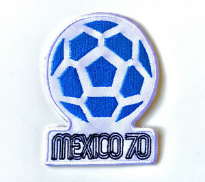 Mexico 70 Football Iron On Sew On Embroidered Patch Badge Sports World Cup
