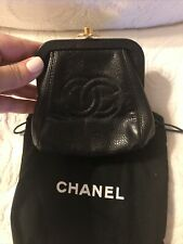 Chanel CC Kiss Lock Wallet