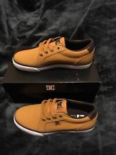 NEW DC Shoes™ Council - Shoes - Boys 5Y (US 5 Y) Wheat/ Dark Chocolate