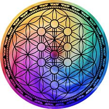 """Tree of Life Sacred Geometry Grid 5"""" Metaphysical Reike healing crystal grid"""