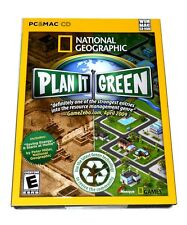 National Geographic: Plan It Green PC & Mac Simulation Video Game Windows/Mac