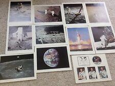 "Set Of 11 Apollo 11 NASA Prints 11×14"" Poster Pictures Space Moon Astronaut"