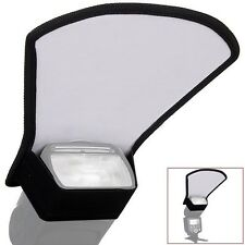 Flash diffuser softbox silver/white reflector for Nikon Canon Olympus Sony AU AT