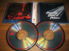 Emerson Lake & Palmer - Welcome Back My Friends To The Show...2 Japan CD Set
