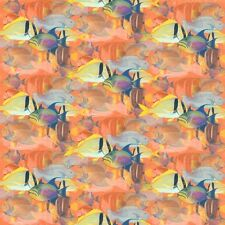 $5 Per Yard TROPICAL DREAMS Coral Fish SPX Quilt Fabric #23563