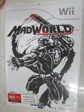 Mad World Madworld Nintendo Wii PAL Version