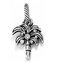Brighton Desert Palm Tree Charm With Swarovski Crystal NEW  vacation (lot x)