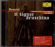 """MARIN """"ROSSINI: IL SIGNOR BRUSCHINO"""" CD 1993 deutsche grammophon"""