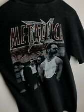 Vintage 90s Metallica European Tour T Shirt Rare Original Tee