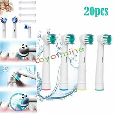 20pcs Replacement Electric Toothbrush Heads for Oral B Flexisoft Precision Clean