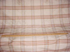 17Y KRAVET COUTURE 22900 PAPILLONS MIST SILK PLAID DRAPERY UPHOLSTERY FABRIC