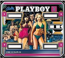Bally Playboy Pinball Machine Backglass - New