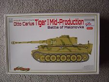 Cyber-Hobby/Dragon 1/35 Tiger I (mid production w/Zimmerit) : Otto Carius