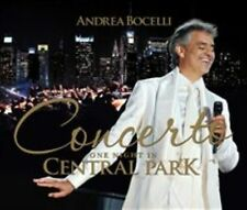 Concerto One Night in Central Park Andrea Bocelli Audio CD