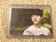 BTS 2nd Muster Goods Jin #1 Photo Card Bangtan Boys Official Top Loader