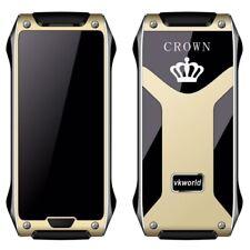 VKWorld Crown V8 Thinnest Luxury Excellent Elegant Phone GOLD Extremely Rare