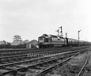6x6cm Railway Negative Deltic D9020 @ Newark 8-1962