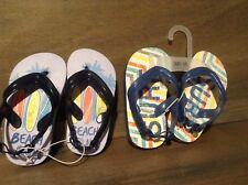 Toy R Us Summer Flip-Flop Sandal Size 5/6  NEW BEACH BUM / SURF