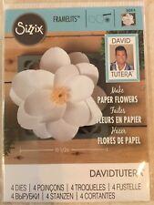Sizzix Framelits Dies Large Magnolia 4 Dies 562414 By David Tutera New