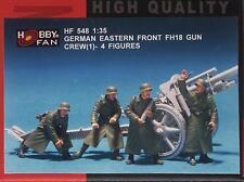 Hobby Fan 1/35 HF-548 WWII German Eastern Front FH18 Gun Crew (1) - 4 Figures