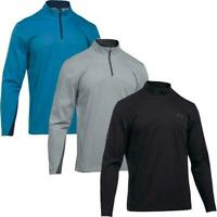 UNDER ARMOUR STORM ELEMENTS 1/4 ZIP THERMAL SWEATER WIND GOLF PULLOVER 60% OFF