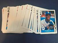 MLB Baseball 1990 Major League All Star US Playing Cards Full Color Photos - NEW