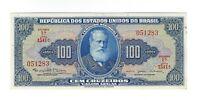100 Cruzeiro Brasilien 1964 C036 / P.170c - Brazil Banknote