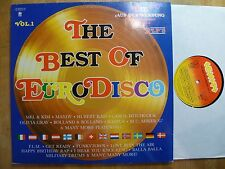 DLP, The Best Of Eurodisco, Mel & Kim, Hubert Kah, Olivia Gray, Bolland & B., M-