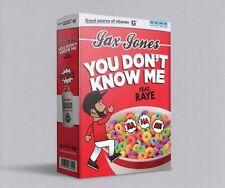 JAX JONES - YOU DON'T KNOW ME (2-TACK)   CD SINGLE NEU