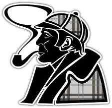 "Sherlock Holmes Detective Car Bumper Window Notebook Sticker Decal 4""X5"""