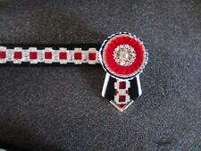 KAPTIVATION BROWBANDS - BLING DIAMONTE  - Red, Navy White & Bling - ANY SIZE