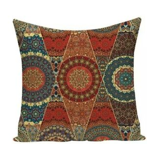 """Moroccan Style Cushion Cover Indian Ethnic Pillow Case 45cm 18"""" Decor"""