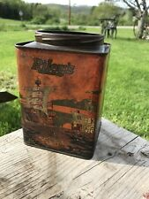 Rare Rileys Rum and Butter Toffee Tin , Orange , Ship