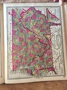Tunison's Peerless Universal Atlas 1887