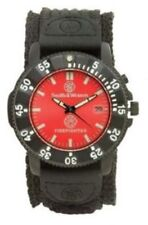 Smith & Wesson Fire Fighter Wrist Watch 4cm Men's Data Display Nylon Bracelet