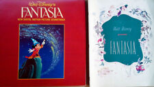 FANTASIA - BUENA VISTA  - NEW DIGITAL SNDTRK - 2 LP SET +  1940 FANTASIA PROGRAM