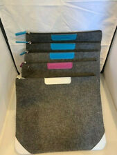 AIR NEW ZEALAND BUSINESS CLASS TOILETRIES KIT - PERFECT IPAD POUCH - BLUE