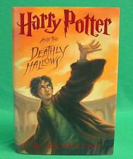 HARRY POTTER AND THE DEATHLY HALLOWS J K ROWLING 1ST EDITION DJ HC 2007