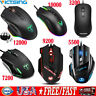 VictSing USB Wired Optical Gaming Mouse 12000DPI Programmable Mice For PC Laptop