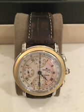 Maurice Lacroix Masterpiece Croneo Men's 18K Gold & Stainless Steel Watch MP6318