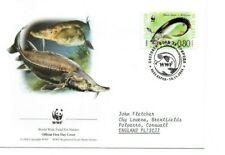 BULGARIA  2004 WWF  FDC  Endangered Species.  Sturgeon   SG4519