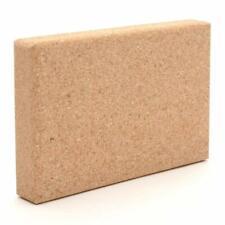 Cork Wood Exercise YOGA Block Cork Brick Fitness Stretching Gym Pilates Aid UK