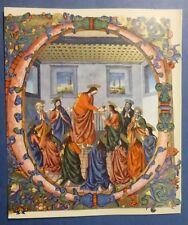 HOLY STAMP - ICONOGRAFIA DA GRADUALE - COMUNIONE APOSTOLI