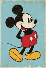 MICKEY MOUSE - VINTAGE STYLE POSTER 24x36 - DISNEY 51077