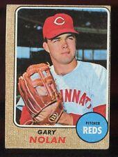 Baseball Card 1968 Topps # 196 Gary Nolan Cincinnati Reds VG - G