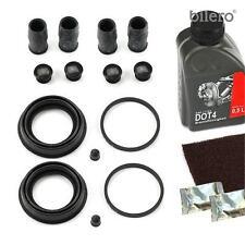 2x Pinza freno Kit di riparazione Kit Rep Set guarnizioni ant. 54 mm per Brems