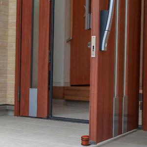 10 x Türstopper, Balkontürstopper in Holzoptik, Türaufhalter Set, Zuschlagbremse