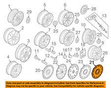 VW VOLKSWAGEN OEM 98-01 Beetle Wheels-Wheel Cover 1C0601147CGJW