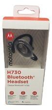 Original Motorola H730 Over-The-Ear Bluetooth Wireless Headset - Silver/Black